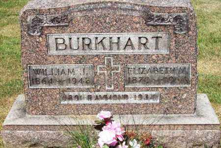 BURKHART, WILLIAM J. - Stark County, Ohio | WILLIAM J. BURKHART - Ohio Gravestone Photos