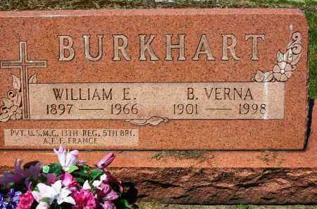 BURKHART, WILLIAM E. - Stark County, Ohio | WILLIAM E. BURKHART - Ohio Gravestone Photos