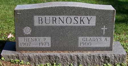 BURNOSKY, GLADYS A. - Stark County, Ohio | GLADYS A. BURNOSKY - Ohio Gravestone Photos