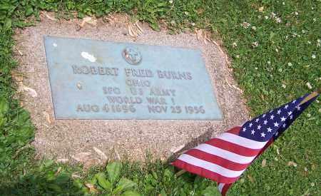 BURNS, ROBERT FRED - Stark County, Ohio   ROBERT FRED BURNS - Ohio Gravestone Photos
