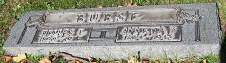BURSE, DELLES L. - Stark County, Ohio | DELLES L. BURSE - Ohio Gravestone Photos