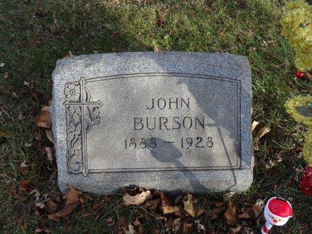 BURSON, JOHN - Stark County, Ohio | JOHN BURSON - Ohio Gravestone Photos