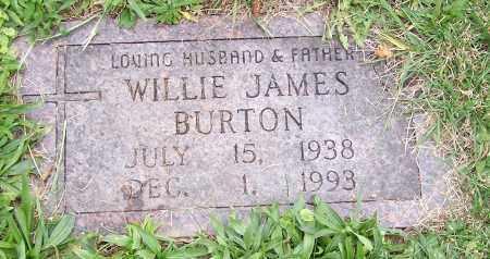 BURTON, WILLIE JAMES - Stark County, Ohio | WILLIE JAMES BURTON - Ohio Gravestone Photos