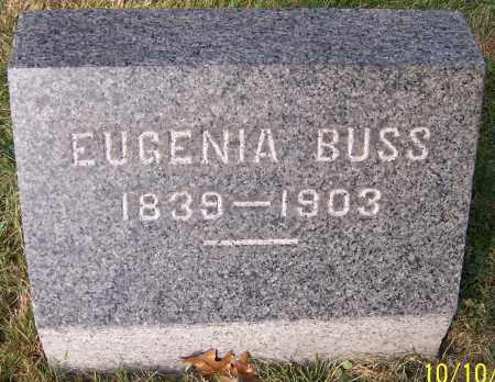 BUSS, EUGENIA - Stark County, Ohio | EUGENIA BUSS - Ohio Gravestone Photos