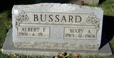 BUSSARD, MARY A. - Stark County, Ohio | MARY A. BUSSARD - Ohio Gravestone Photos