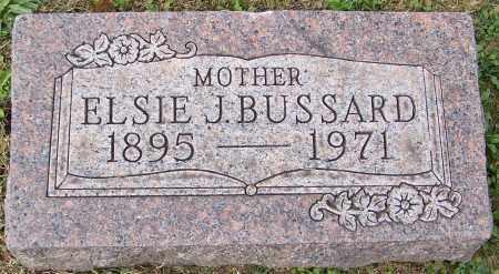 BUSSARD, ELSIE J. - Stark County, Ohio | ELSIE J. BUSSARD - Ohio Gravestone Photos