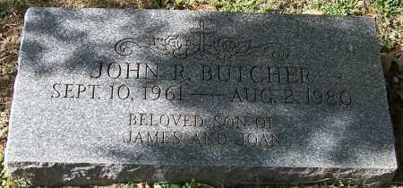 BUTCHER, JOHN R. - Stark County, Ohio   JOHN R. BUTCHER - Ohio Gravestone Photos