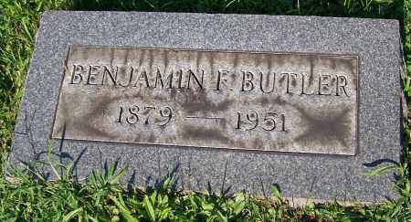 BUTLER, BENJAMIN F. - Stark County, Ohio | BENJAMIN F. BUTLER - Ohio Gravestone Photos