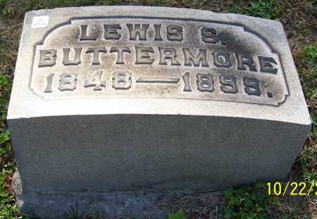 BUTTERMORE, LEWIS S. - Stark County, Ohio   LEWIS S. BUTTERMORE - Ohio Gravestone Photos