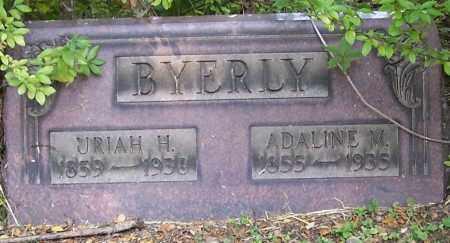 BYERLY, ADALINE - Stark County, Ohio | ADALINE BYERLY - Ohio Gravestone Photos