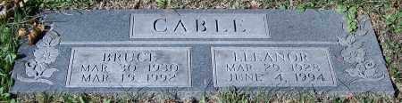 CABLE, BRUCE - Stark County, Ohio | BRUCE CABLE - Ohio Gravestone Photos
