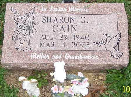 CAIN, SHARON G. - Stark County, Ohio | SHARON G. CAIN - Ohio Gravestone Photos