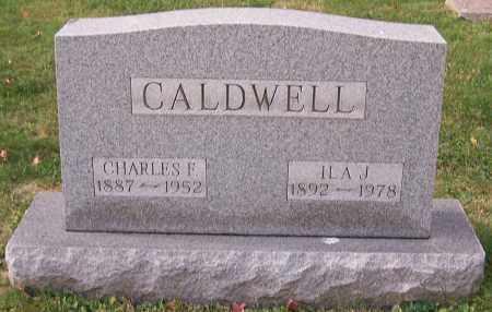 CALDWELL, ILA J. - Stark County, Ohio   ILA J. CALDWELL - Ohio Gravestone Photos