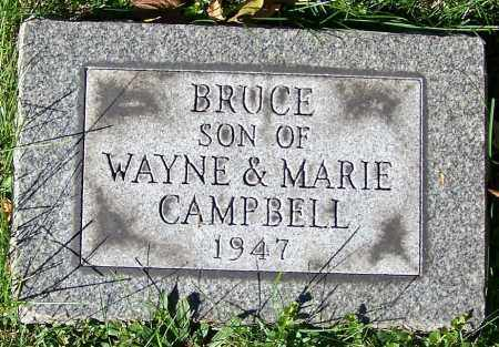 CAMPBELL, BRUCE - Stark County, Ohio | BRUCE CAMPBELL - Ohio Gravestone Photos