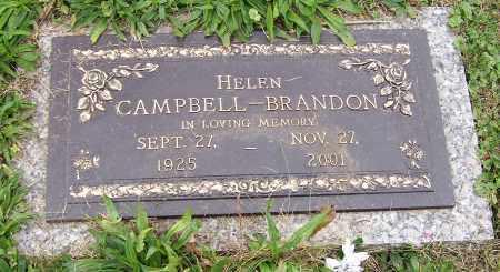 CAMPBELL, HELEN - Stark County, Ohio | HELEN CAMPBELL - Ohio Gravestone Photos