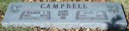 CAMPBELL, MARY L. - Stark County, Ohio | MARY L. CAMPBELL - Ohio Gravestone Photos