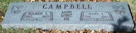 CAMPBELL, WILBUR L. - Stark County, Ohio | WILBUR L. CAMPBELL - Ohio Gravestone Photos