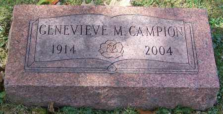 CAMPION, GENEVIEVE M. - Stark County, Ohio | GENEVIEVE M. CAMPION - Ohio Gravestone Photos