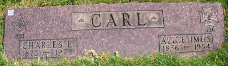 CARL, ALICE IMUS - Stark County, Ohio | ALICE IMUS CARL - Ohio Gravestone Photos