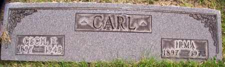CARL, CECIL E. - Stark County, Ohio | CECIL E. CARL - Ohio Gravestone Photos