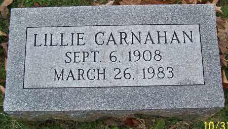 CARNAHAN, LILLIE - Stark County, Ohio | LILLIE CARNAHAN - Ohio Gravestone Photos