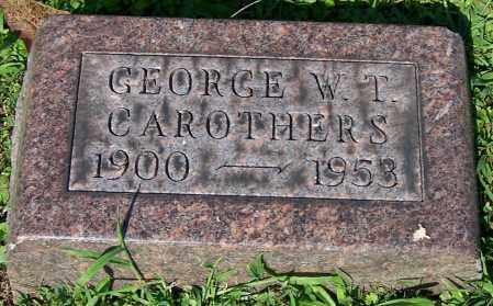 CAROTHERS, GEORGE W.T. - Stark County, Ohio   GEORGE W.T. CAROTHERS - Ohio Gravestone Photos