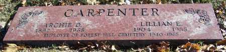 CARPENTER, LILLIAN E. - Stark County, Ohio | LILLIAN E. CARPENTER - Ohio Gravestone Photos