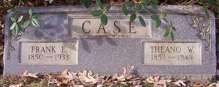 CASE, THEANO W. - Stark County, Ohio | THEANO W. CASE - Ohio Gravestone Photos