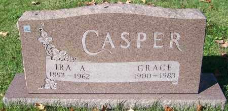 CASPER, IRA A. - Stark County, Ohio | IRA A. CASPER - Ohio Gravestone Photos