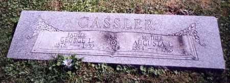 CASSLER, GEORGE L. - Stark County, Ohio | GEORGE L. CASSLER - Ohio Gravestone Photos