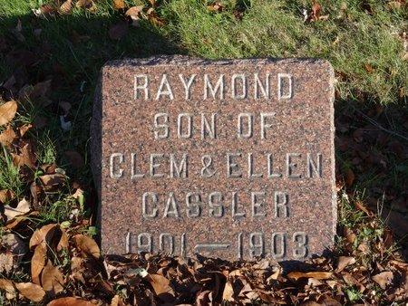 CASSLER, RAYMOND - Stark County, Ohio | RAYMOND CASSLER - Ohio Gravestone Photos