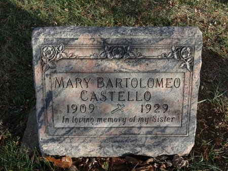 CASTELLO, MARY - Stark County, Ohio | MARY CASTELLO - Ohio Gravestone Photos