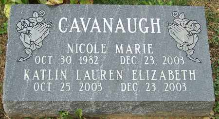CAVANAUGH, NICOLE - Stark County, Ohio | NICOLE CAVANAUGH - Ohio Gravestone Photos