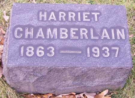 CHAMBERLAIN, HARRIET - Stark County, Ohio | HARRIET CHAMBERLAIN - Ohio Gravestone Photos