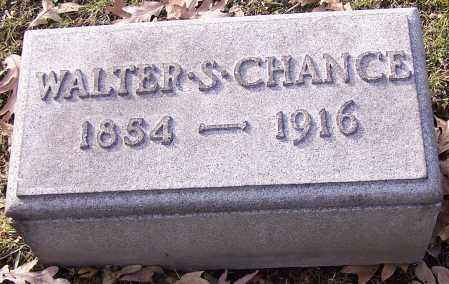 CHANCE, WALTER S. - Stark County, Ohio | WALTER S. CHANCE - Ohio Gravestone Photos