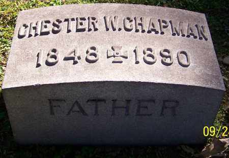 CHAPMAN, CHESTER W. - Stark County, Ohio   CHESTER W. CHAPMAN - Ohio Gravestone Photos