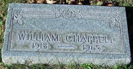 CHAPPELL, WILLIAM - Stark County, Ohio   WILLIAM CHAPPELL - Ohio Gravestone Photos