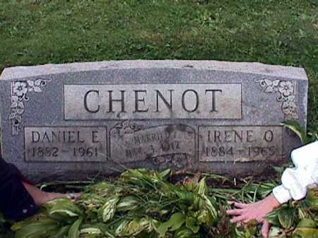 CHENOT, DANIEL EDWARD - Stark County, Ohio | DANIEL EDWARD CHENOT - Ohio Gravestone Photos