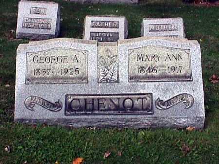 CHENOT, MARYANN - Stark County, Ohio | MARYANN CHENOT - Ohio Gravestone Photos