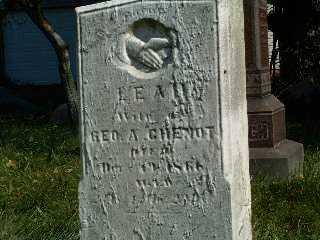RINGER CHENOT, LEAH - Stark County, Ohio | LEAH RINGER CHENOT - Ohio Gravestone Photos