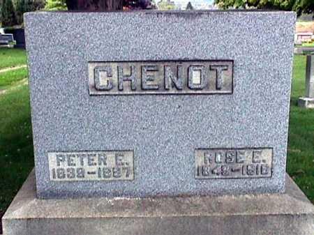 CHENOT, PETER EMILE - Stark County, Ohio | PETER EMILE CHENOT - Ohio Gravestone Photos