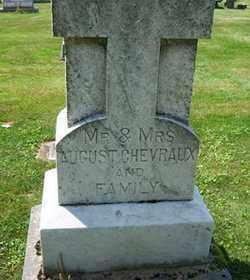 CHEVRAUX, AUGUST - Stark County, Ohio | AUGUST CHEVRAUX - Ohio Gravestone Photos