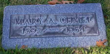CHMEL, MARY A. - Stark County, Ohio | MARY A. CHMEL - Ohio Gravestone Photos