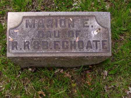 CHOATE, MARION E. - Stark County, Ohio | MARION E. CHOATE - Ohio Gravestone Photos