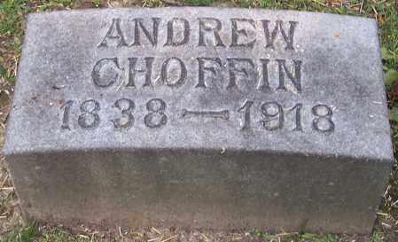 CHOFFIN, ANDREW - Stark County, Ohio | ANDREW CHOFFIN - Ohio Gravestone Photos