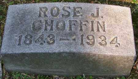CHOFFIN, ROSE J. - Stark County, Ohio | ROSE J. CHOFFIN - Ohio Gravestone Photos