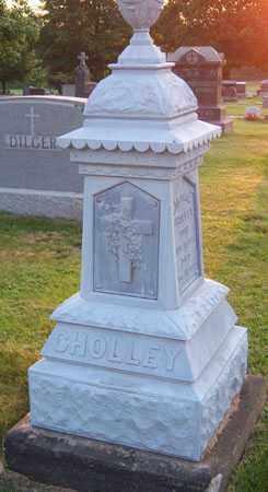 CHOLLEY, CAROLINE - Stark County, Ohio | CAROLINE CHOLLEY - Ohio Gravestone Photos