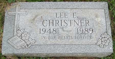 CHRISTNER, LEE E. - Stark County, Ohio | LEE E. CHRISTNER - Ohio Gravestone Photos