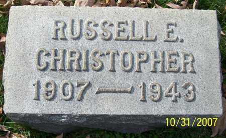 CHRISTOPHER, RUSSELL E. - Stark County, Ohio | RUSSELL E. CHRISTOPHER - Ohio Gravestone Photos