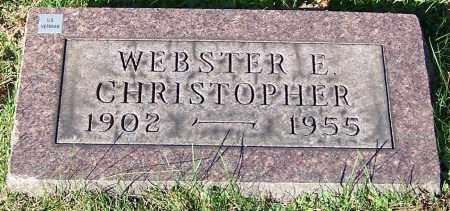 CHRISTOPHER, WEBSTER E. - Stark County, Ohio | WEBSTER E. CHRISTOPHER - Ohio Gravestone Photos